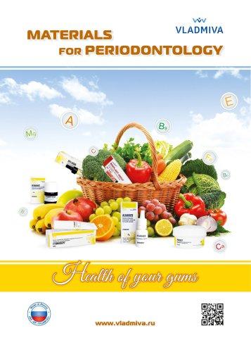 VLADMIVA MATERIALS for PERIODONTOLOGY
