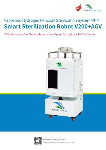 Meizhuo/hydrogen peroxide sterilizer/MZ-V200+AGV