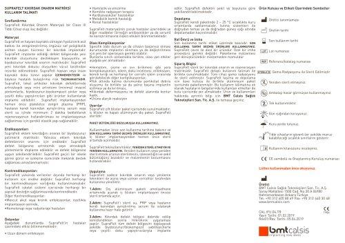 Data sheet for SupraFelt