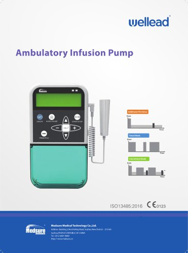 Medsure 3000F Ambulatory Infusion Pump