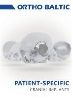 Custom-made cranial implants