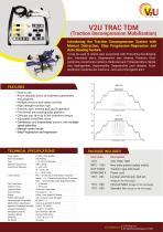V2U TRAC TDM (Traction Decompression Mobilisation) - 1