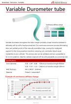 Variable Durometer Tubing