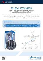 FLEX ISYNTH - High-Throughput Library Synthesis