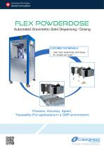 FLEX POWDERDOSE - Automated Gravimetric Solid Dispensing / Dosing
