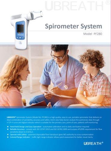 UBREATH Spirometer System PF280