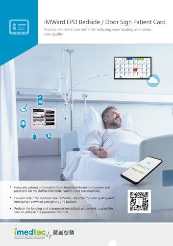 Ward,Bedside E-paper Card- 13.3''