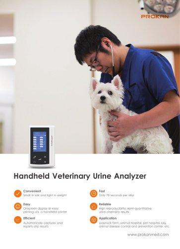 Ui-10vet Handhold urine analyzer, automatic urine analyzer