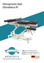 axiothera Chiropractic table Chirothera Pi