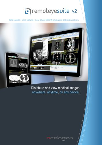 Web-enabled / cross-platform / cross-device DICOM viewing and distribution solution