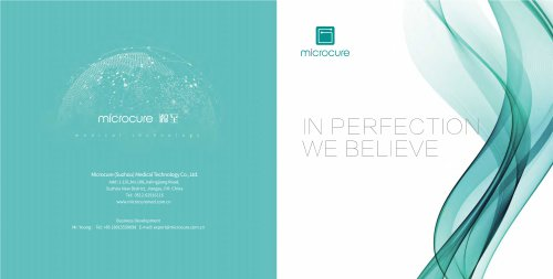 Microcure Product Brochure