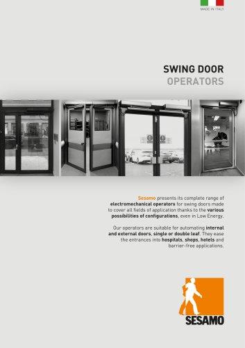 Sesamo - Swing Door Operators
