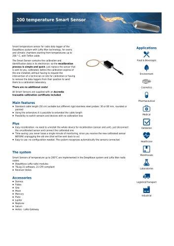 200°C temperature Smart Sensor