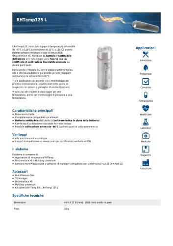 RHTemp125 L data sheet
