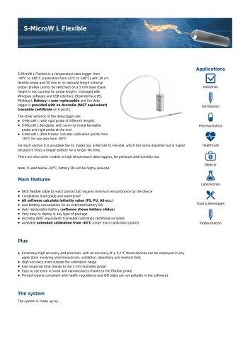 S-MicroW L Flexible data sheet