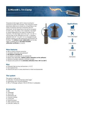 S-MicroW L Tri-Clamp data sheet