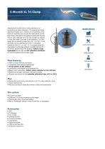 S-MicroW XL Tri-Clamp data sheet