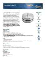 SterilDisk probe 10 data sheet