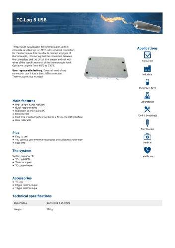 TC-Log 8 USB