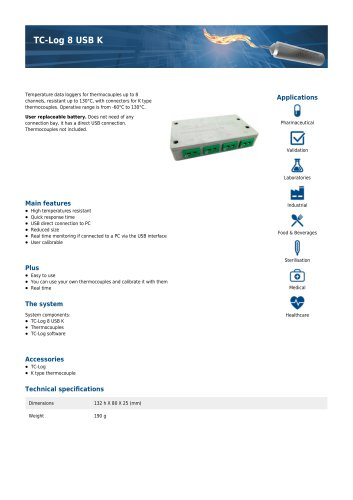 TC-Log 8 USB K
