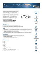 Temperature and humidity Smart Sensor
