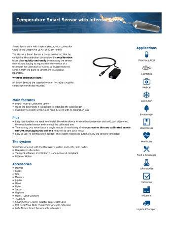 Temperature Smart Sensor with internal sensor
