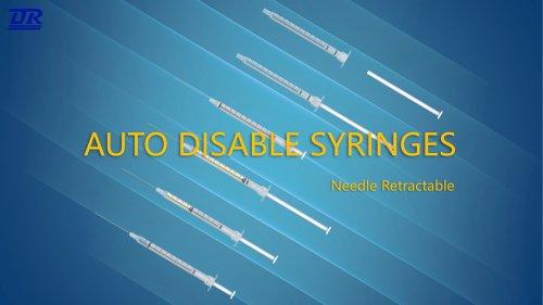 ADS Auto-disable Syringe