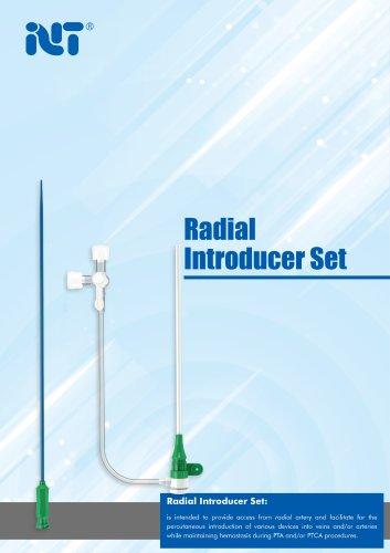 TR series Radial Sheath Set