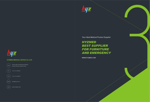 Brochure for furniture and emergency