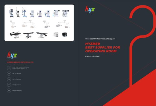 Brochure for OR room