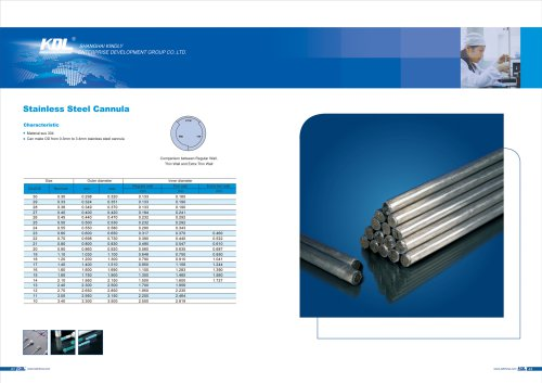 Stainless Steel Cannula