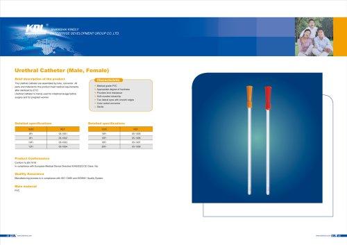 Urethral Catheter (Male, Female)