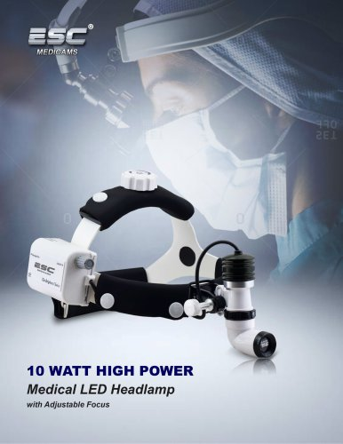 Wireless LED Dental Headlight for ENT and Surgical 10 Watt