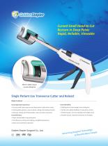GoldenStapler CCSA40G Curved surgical stapler