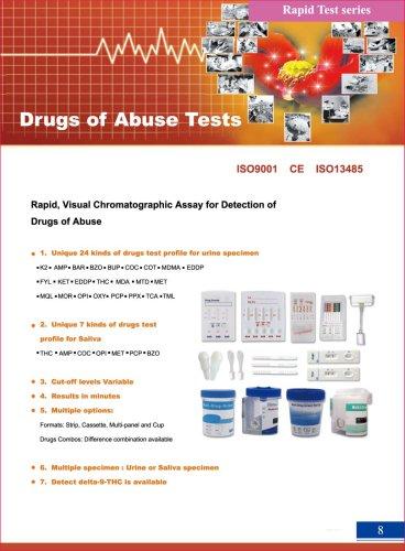 Drugs of abuse tests-Hwtai