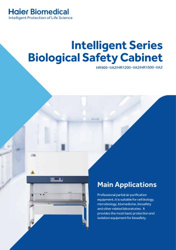 Intelligent Series Biological Safety Cabinet HR900-IIA2/HR1200-IIA2/HR1500-IIA2