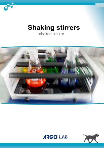Shaking stirrers