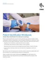 Patient Identification Wristbands - 1