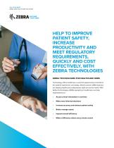 Zebra Healthcare Application Brief - 1