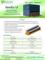 SemiEx 12 semi-automated purification system