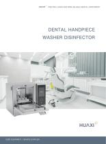 Automatic washer-disinfector HX/DWD Series,Dental Handpiece Washer Disinfector,HX/DWD-900