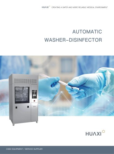 Automatic Washer Disinfector, HX-RWD-308 HX-RWD-480 floor-standing washer-disinfector