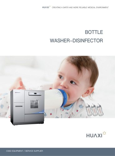 Bottle Washer Disinfector HX/RWD-198 Automatic Washer Disinfector