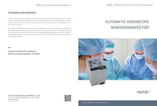 HX/AEWD–A1 Automatic Endoscope Washer Disinfector, automatic washer-disinfector