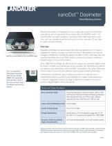 nanoDot™ Dosimeter