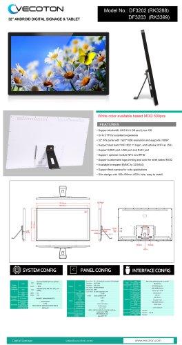 32-inch patient whiteboard DF32