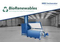 MB3 Medical Incinerator