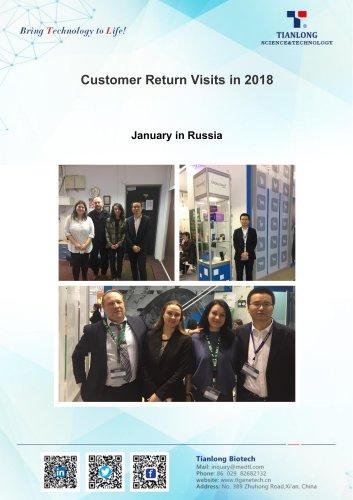 Tianlong's customer return visits