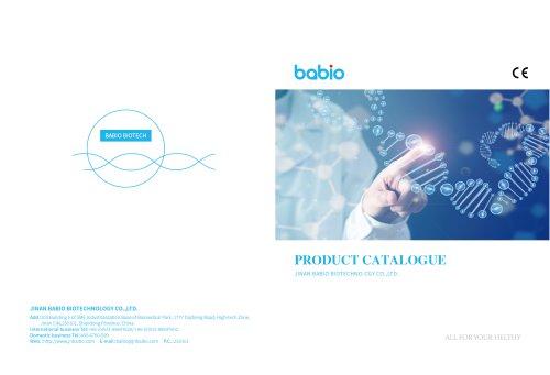babio catalog