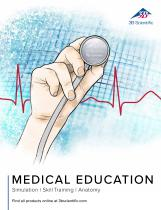 3B Scientific Medical Education Catalog-Simulation - Skill Training - Anatomy